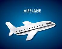 Airplane icon Royalty Free Stock Photos