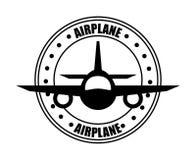 Airplane icon Royalty Free Stock Photo