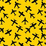 Airplane icon Royalty Free Stock Images