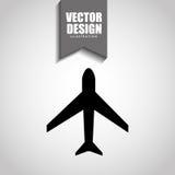 airplane icon design Stock Image