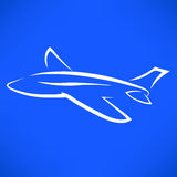 Airplane Icon Royalty Free Stock Image