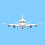 Airplane icon vector aviation illustration Royalty Free Stock Photos