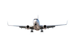 Airplane isolated on white Royalty Free Stock Photo