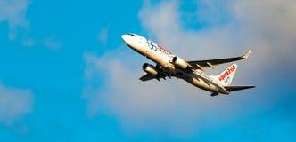 Airplane italy Royalty Free Stock Photos