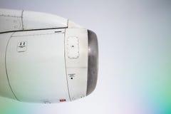 Airplane jet engine Royalty Free Stock Photo