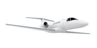 Airplane Jet Isolated Royalty Free Stock Photography