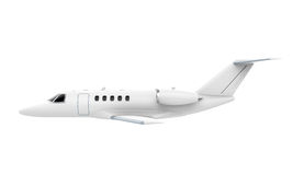 Airplane Jet Isolated. On white background. 3D render Stock Photos