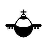 Airplane jet symbol. Icon vector illustration graphic design Stock Photo