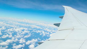 Airplane journey Royalty Free Stock Photo