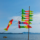 Airplane kite Royalty Free Stock Images