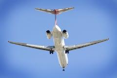 Airplane Leaving Stock Photo