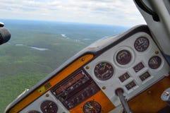 Airplane left Royalty Free Stock Photos