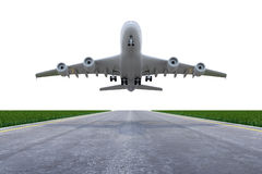 Airplane lifting up Royalty Free Stock Photos