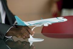 Airplane model Stock Photo