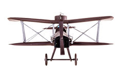 Airplane model front Royalty Free Stock Image