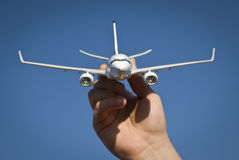 Airplane model Stock Images