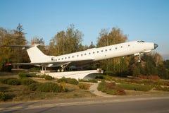 Airplane monument in Chisinau Stock Photos