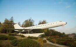 Airplane monument in Chisinau Stock Photo