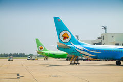 Airplane NOK-AIR Royalty Free Stock Image