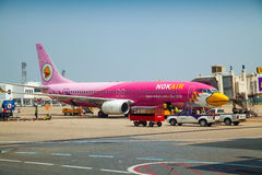 Airplane NOK-AIR Royalty Free Stock Photo