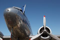Airplane Nose Royalty Free Stock Images