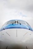Airplane nose Stock Photo