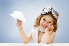 Free Airplane Pilot Royalty Free Stock Photography - 33602397