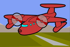 Airplane, Plane, Field Stock Photos