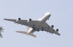 A380 AirPlane Stock Photo