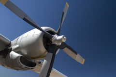 Airplane Propeller Stock Image