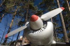 Airplane propeller Royalty Free Stock Photography