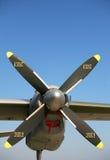 Airplane propeller Royalty Free Stock Image