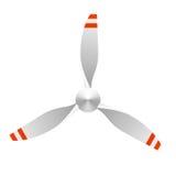 Airplane propeller royalty free illustration