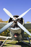An airplane propeller. Stock Image