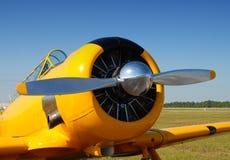 Airplane Propeller Closeup Stock Photo