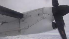 Airplane Propeller, Engines, Aircraft, Flight stock video
