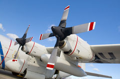 Airplane Propellers Royalty Free Stock Images