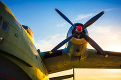 Airplane propellers Royalty Free Stock Image