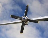 Airplane propellesr Royalty Free Stock Photo