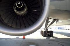 Airplane's wheel Royalty Free Stock Photo