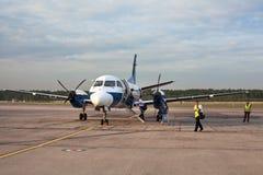 Airplane Saab 304 Royalty Free Stock Photo