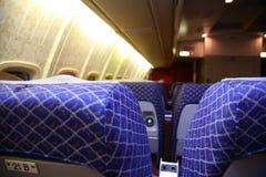 Airplane salon stock photography