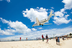 Airplane Sand Royalty Free Stock Image