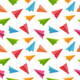 Airplane Seamless Pattern Background Vector Stock Photo