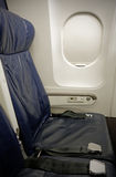 Airplane Seat Stock Image