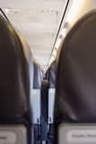 Airplane seat Royalty Free Stock Images