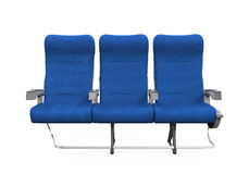 Airplane Seats Isolated Royalty Free Stock Images