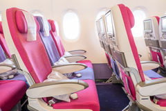 Airplane seats Stock Images