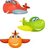 Airplane set Stock Images