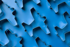 Airplane Shaped Cookie Cutters Royalty Free Stock Photos